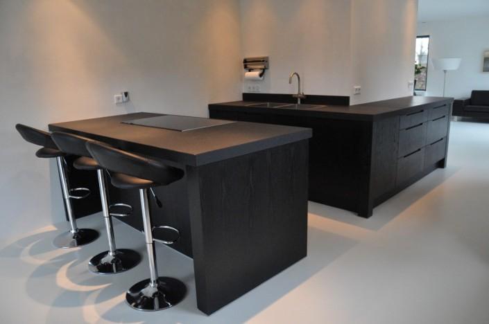 Keuken Design Emmeloord : Keuken zwart eiken 4